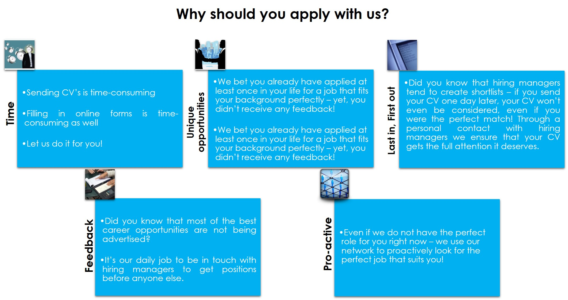 Why should you apply with us
